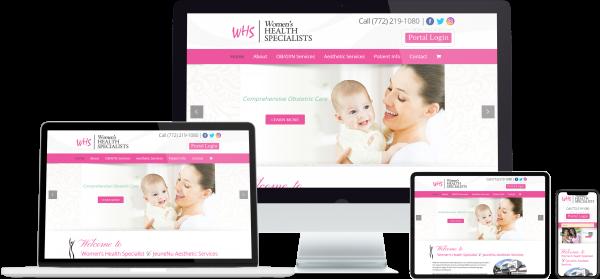 Example of web design company stuart florida