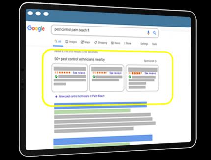 Google Local Service Ads (LSA)