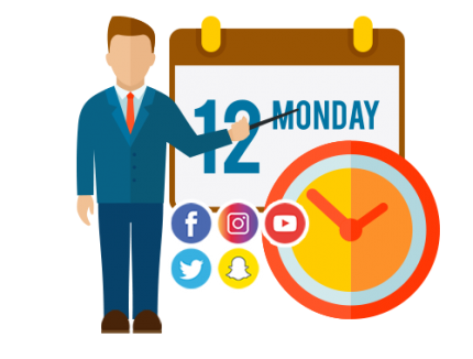 scheduling social media marketing agency plans